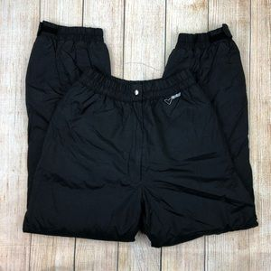 OBERMEYER Black Vintage Snow Ski Pants